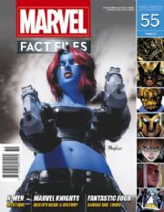 Marvel Fact Files #55 With Binder Eaglemoss Publications
